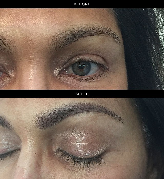 Permanent Eyebrow Photos Los Gatos Bay Area Timeless Skin Spa