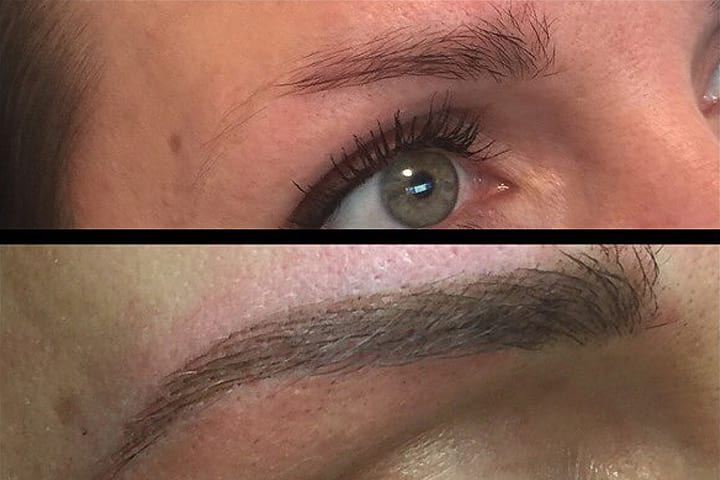 blended brows offer